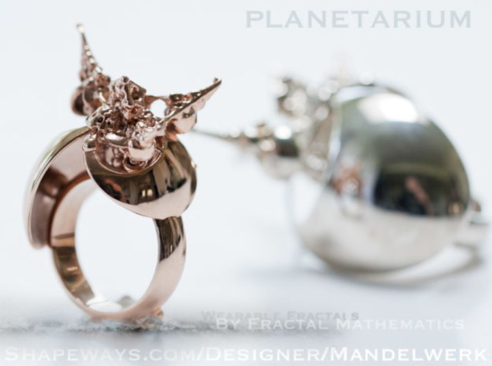 Planetarium Ring - 19.5mm 3d printed