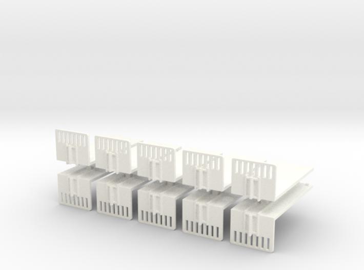 1/160 Spur N scale Abrollbehälter Plattform 10er 3d printed