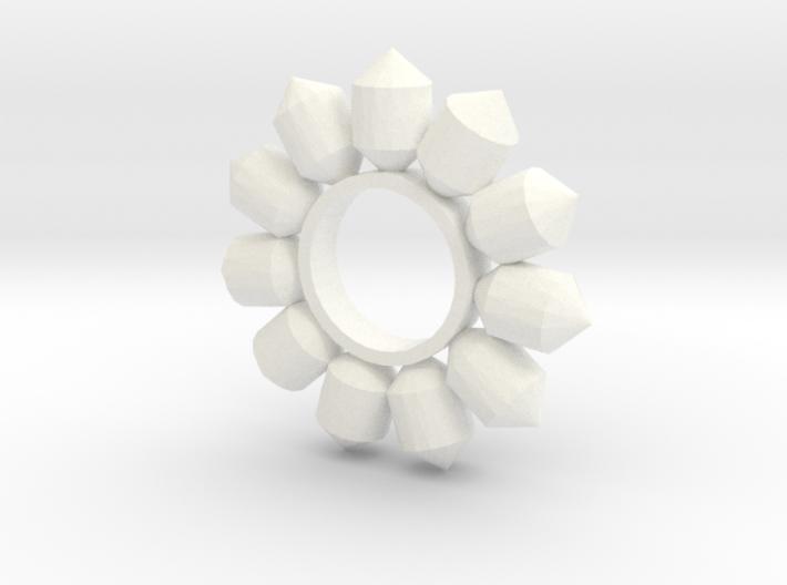 All Round Gems 3d printed