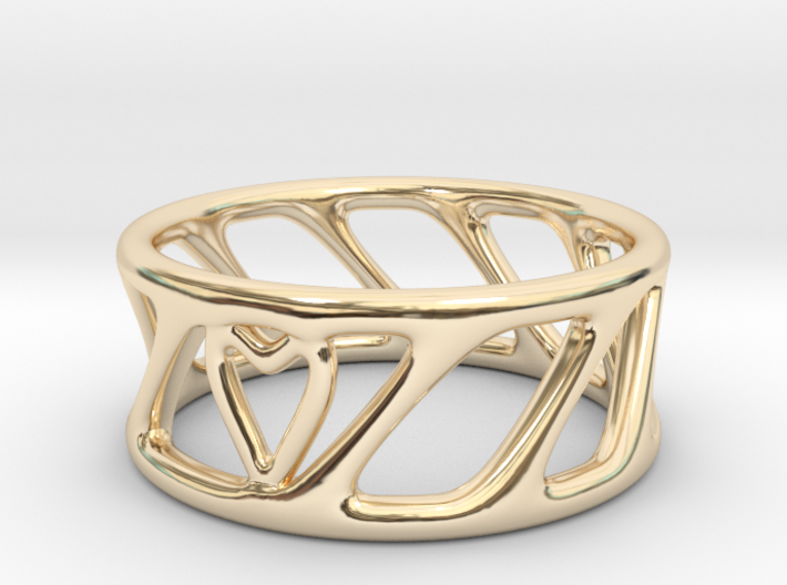 Cool Ring Two 3d printed