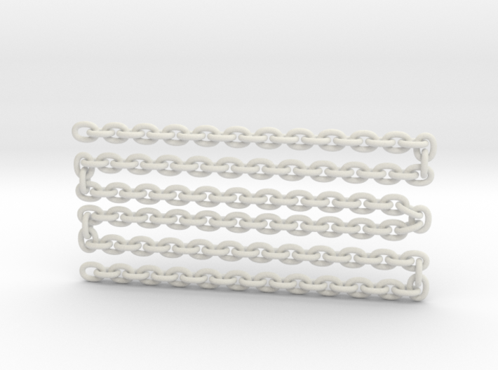 """scale logChain 24"""" 3d printed"""