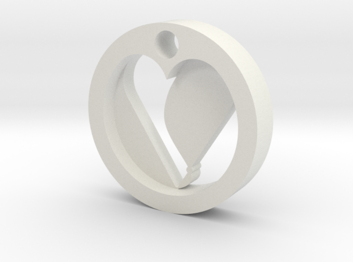 HeartPuzzle (2) 3d printed Collection: Charms