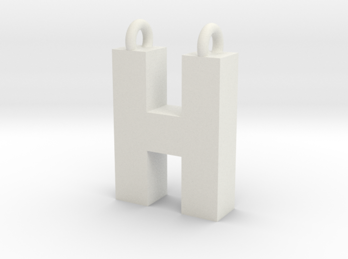 Alphabet (H) 3d printed Collection: Alphabet