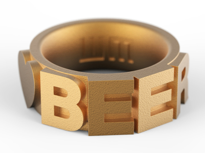 Love BEER Size 5.5 3d printed Add a caption...