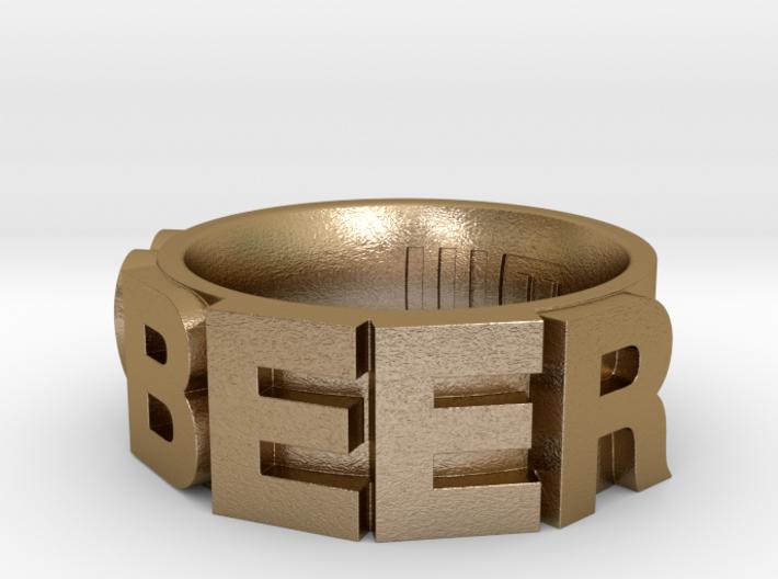 Love BEER Size 5.5 3d printed