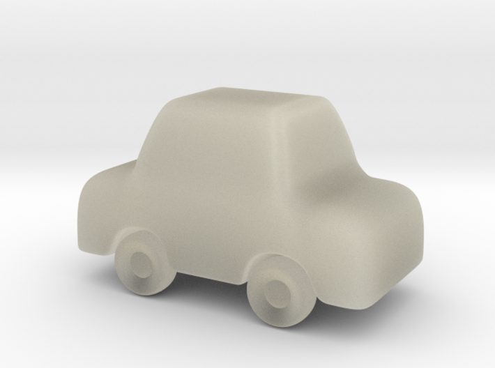 CarShapeways2 3d printed