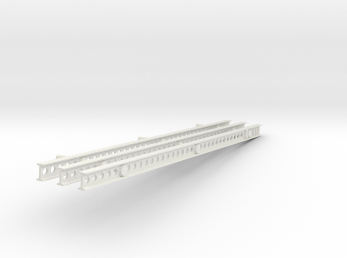 1-25 Katyusha Left Rails 3d printed