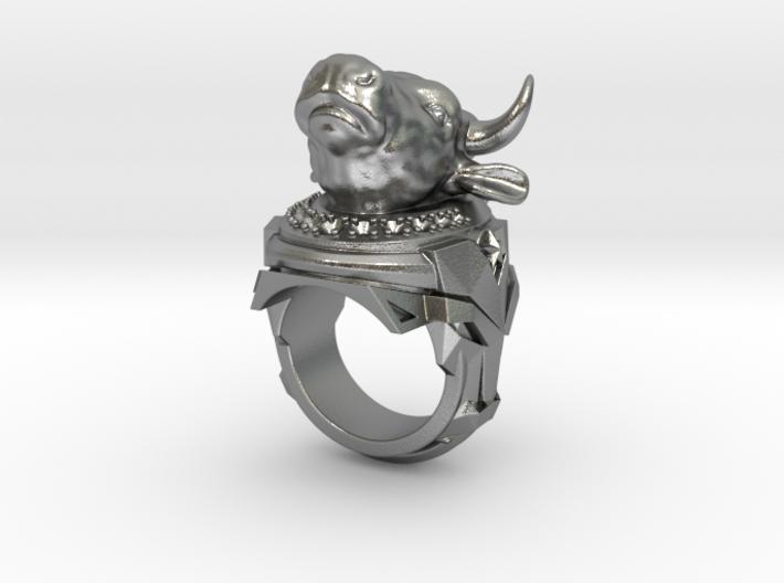 El Toro Magnifico -Gems - Size 12 (21.49 mm) 3d printed