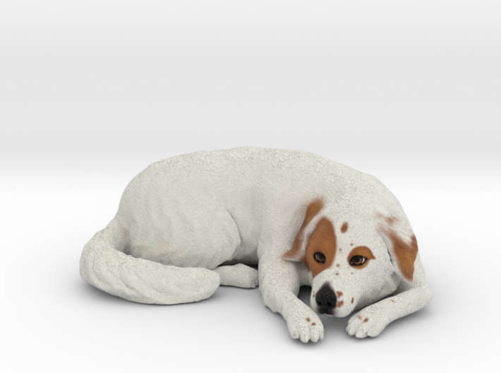 Custom Dog Figurine - Maybe 3d printed