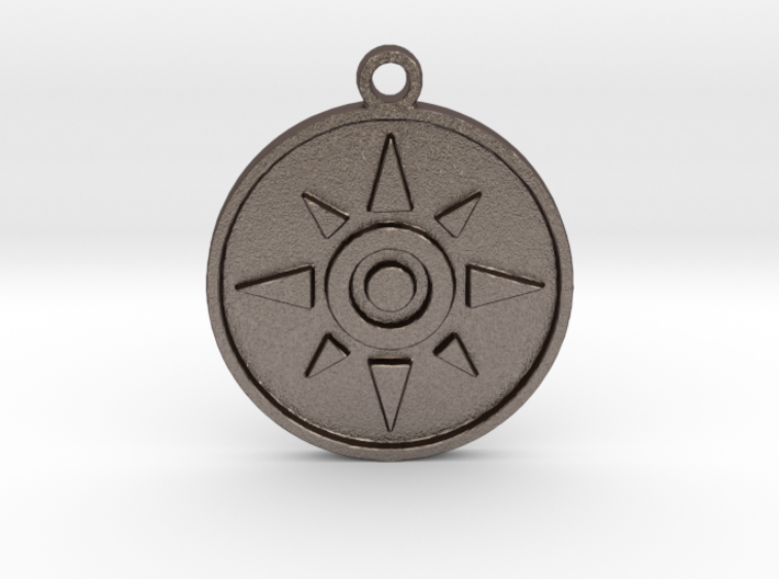 Digimon Crest of Courage 3d printed