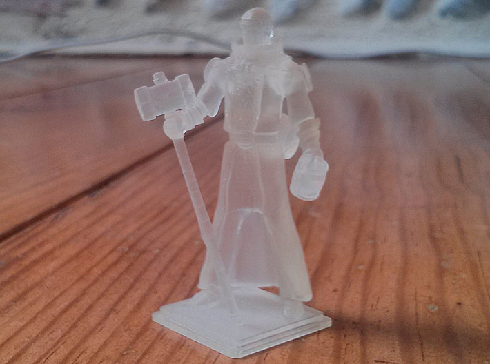 Inquisitor 3d printed Printed figurine Photo