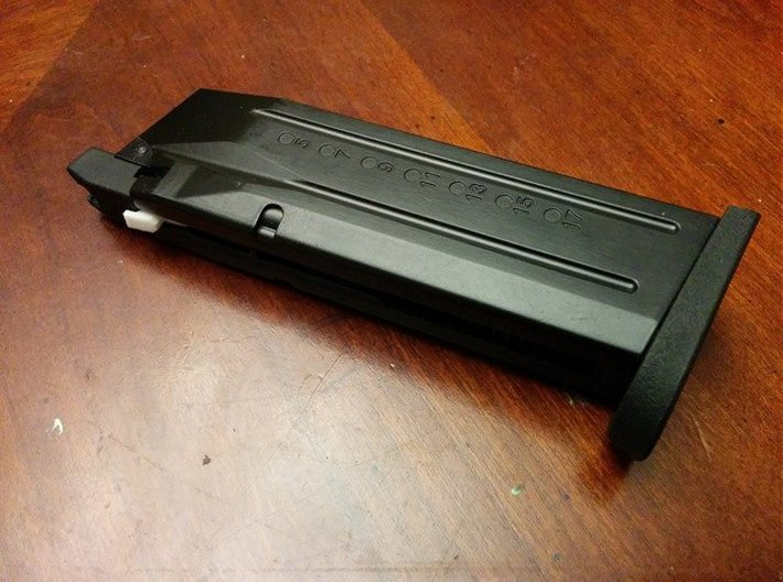 GBB Pistol Dry Fire Adapter 3d printed