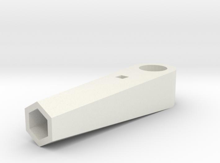 Pencil Horn for TowerPro Micro Servo 3d printed