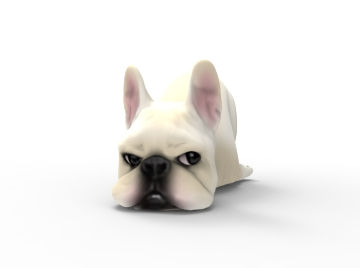F*** It Frenchie Cream 3d printed
