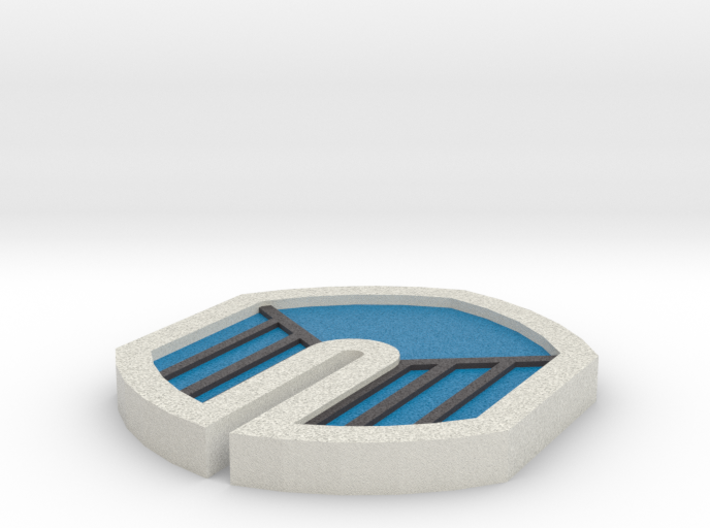 Zephyr Badge - Pokemon Johto Badges 3d printed