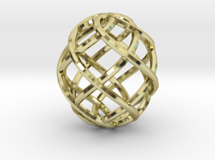 Wireframe Easter Egg 3d printed