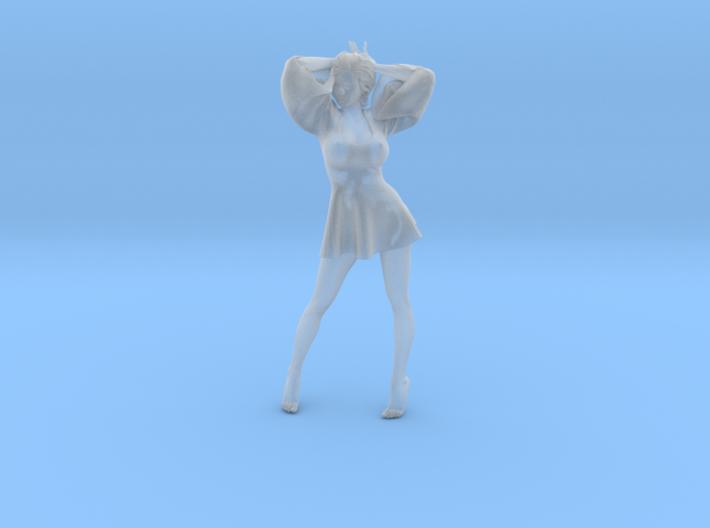 Skirt Girl-003 scale 1/24 3d printed