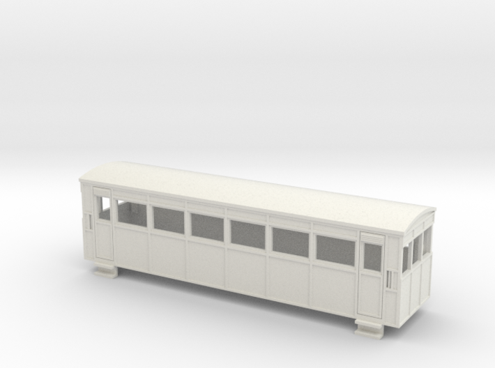 009 Drewry bogie railcar 3d printed