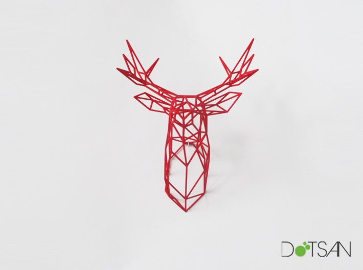 Stag Medium Looking Ahead 3d printed