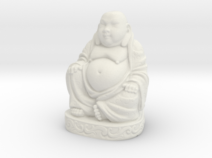 Buddha Statue - Antiques 3d printed