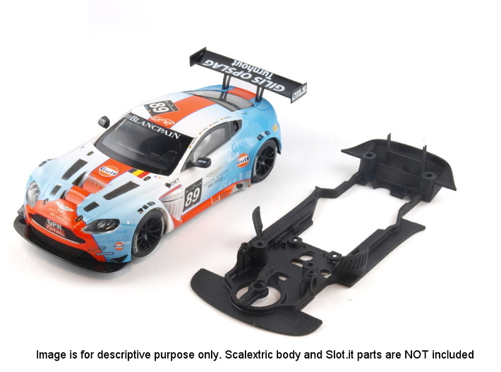 S07-ST1 Chassis for Scalextric Aston GT3 STD/LMP 3d printed