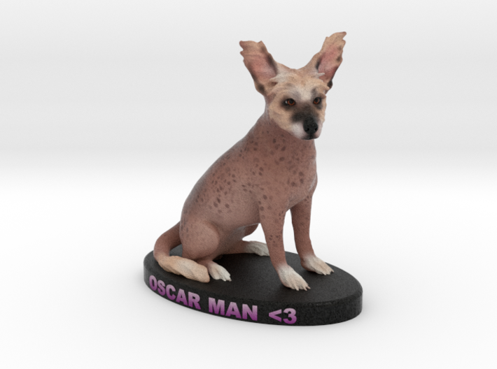 Custom Dog Figurine - Oscar 3d printed