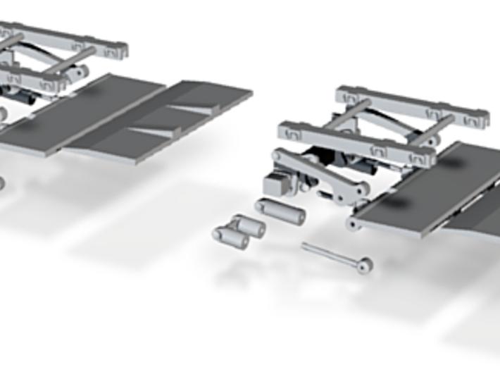 Zepro ZT-150 Komplett 2Stck 3d printed