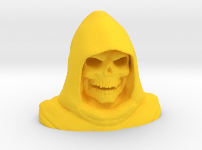 Grim Reaper Bust 3d printed