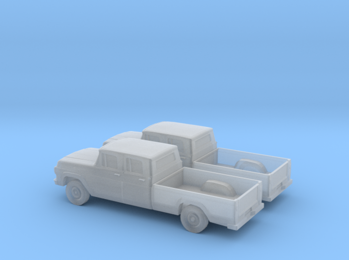 1/160 2X 1959 Ford F250Crew Cab 3d printed