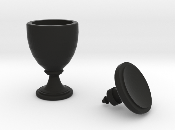15th Century Oil Vase (5 inches tall) 3d printed
