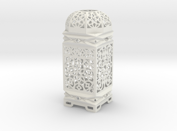 Moroccan Inspired Design 3D 3d printed