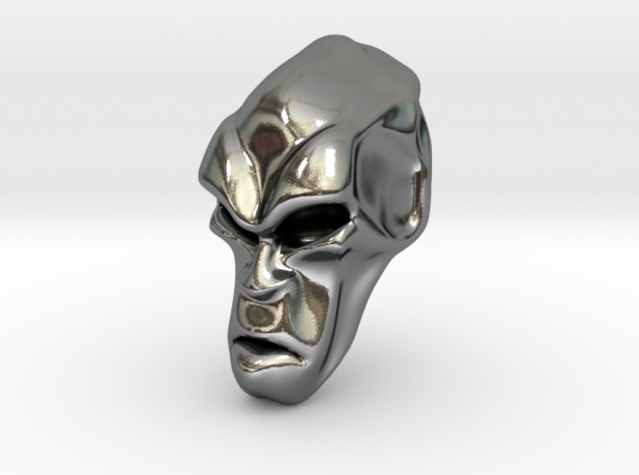 Skull-034 scale in 3cm Passed 3d printed