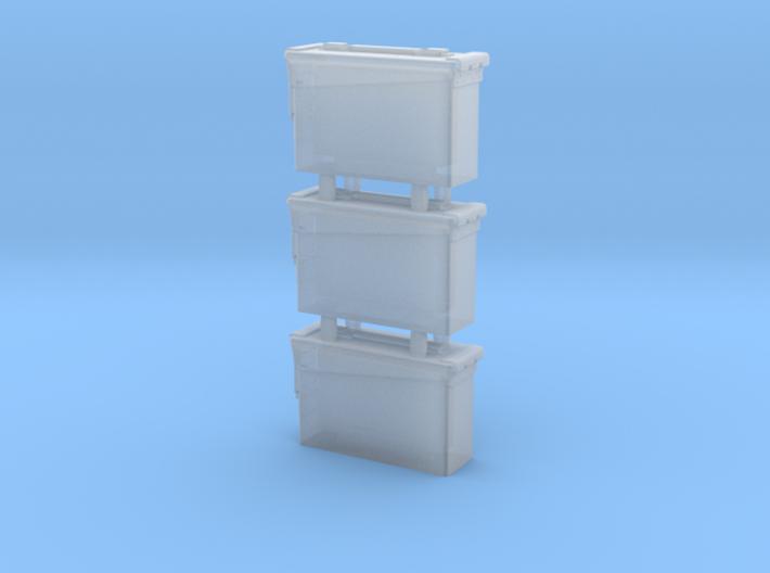 1/16 SPM-16-005 30.cal ammobox 3d printed