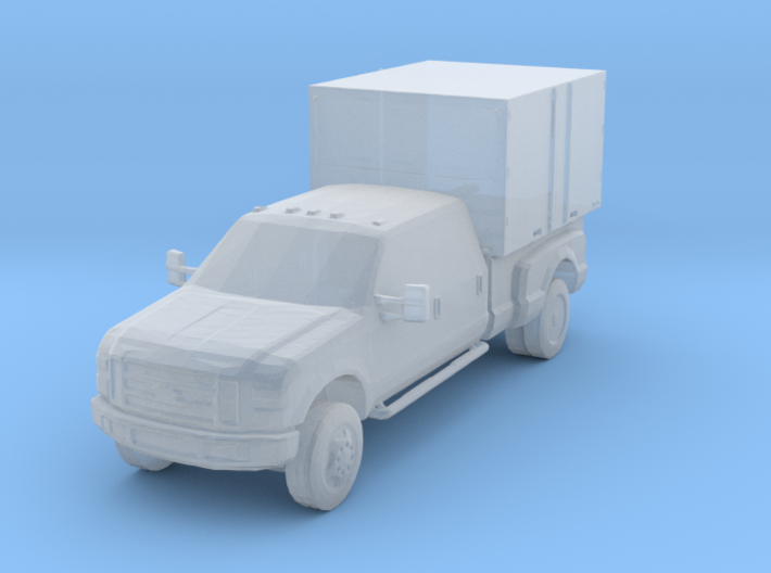 Military Civilian shop vehicle 3d printed