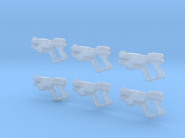 M3Predator Full Gun 1-18th 3d printed