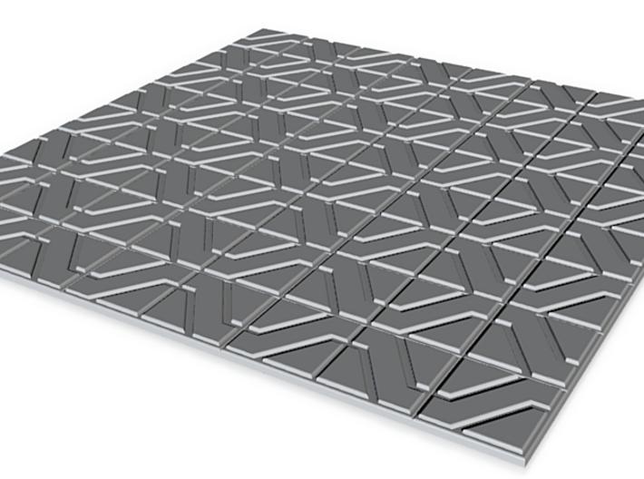 Designer Tile (Daaa) 3d printed