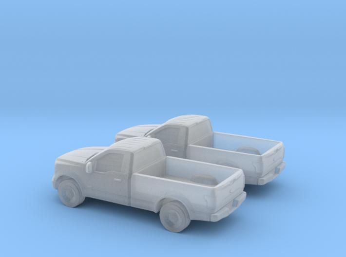 1/160 2X 2015 Ford F Single Cab 3d printed