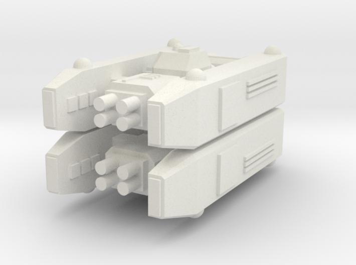 [Galaxia] Lancer x2 3d printed