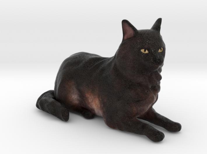 Custom Cat Figurine - Cassiopeia 3d printed