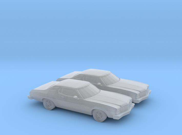 1/160 2X 1974 Ford Torino 3d printed