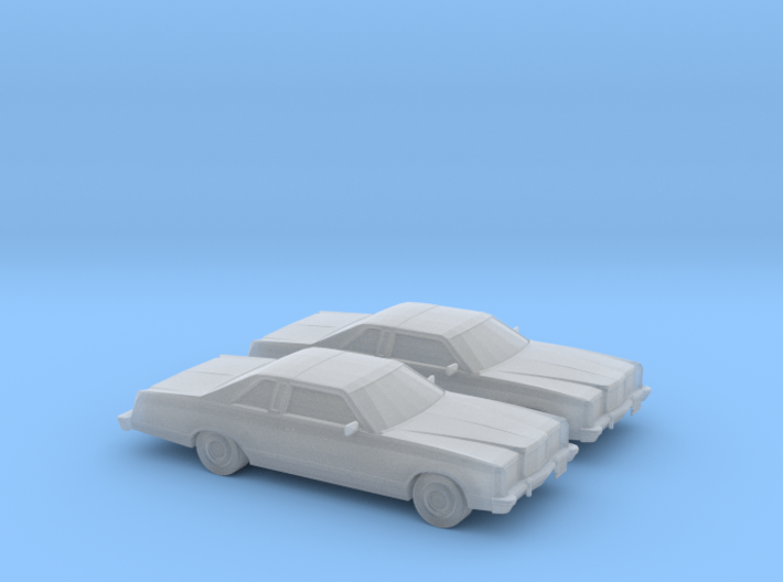 1/160 2X 1975 Ford Ltd Coupe 3d printed
