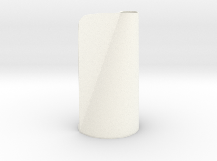 Winged Conical Vase 3d printed