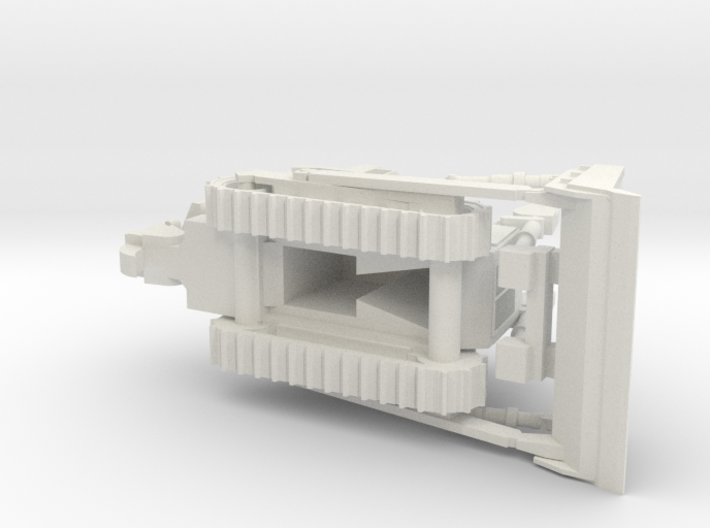 Armored Dozer Doobi 1/100 Scale 3d printed