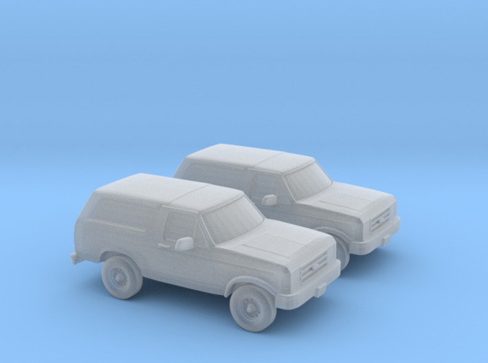1/160 2X 1989 Ford Bronco 3d printed