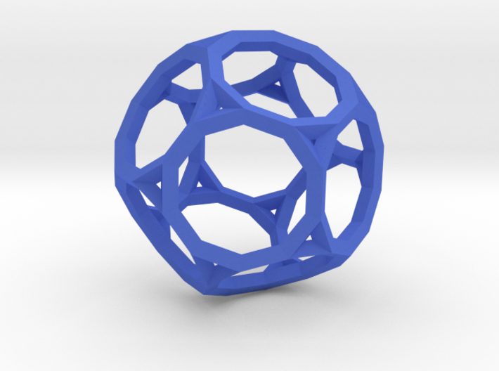 Truncated Dodecahedron(Leonardo-style model) 3d printed