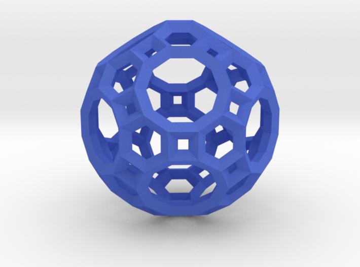 Truncated Icosidodecahedron(Leonardo-style model) 3d printed
