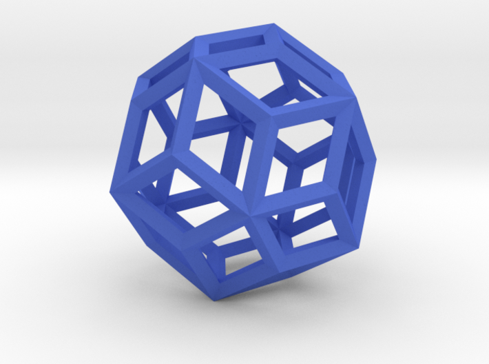 Rhombic Triacontahedron(Leonardo-style model) 3d printed