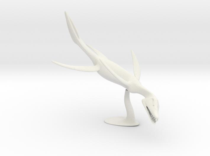 Simolestes (Jurassic marine reptile) 3d printed