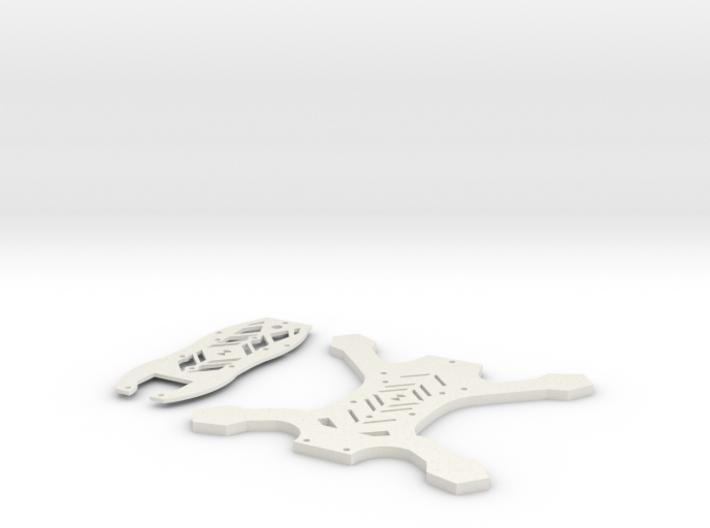 169mm FPV Quad V2 Slim (Aka: Tigiris) 3d printed