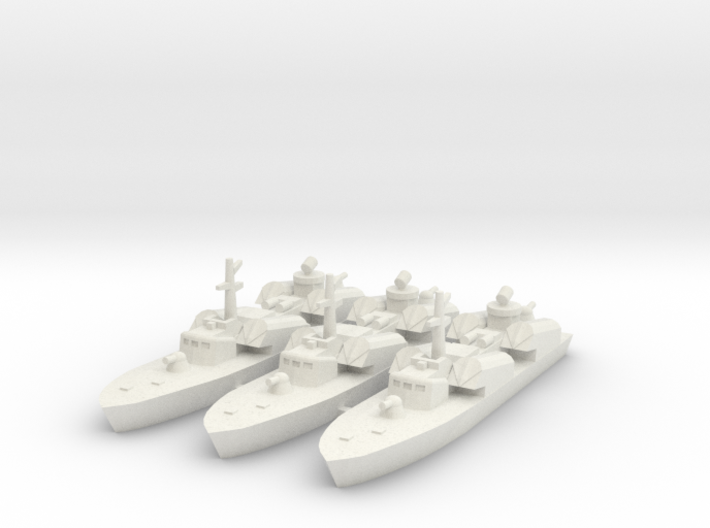 OSA-1 Missile boat 1:700 & 1:350 3d printed